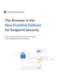 Google Chrome White Paper Cover